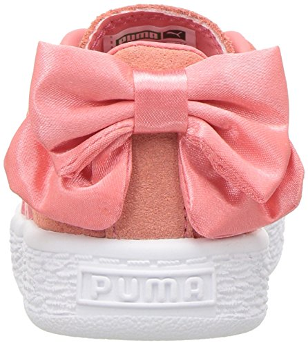 PUMA Kids  Suede Bow Slip On Sneaker a81a19495