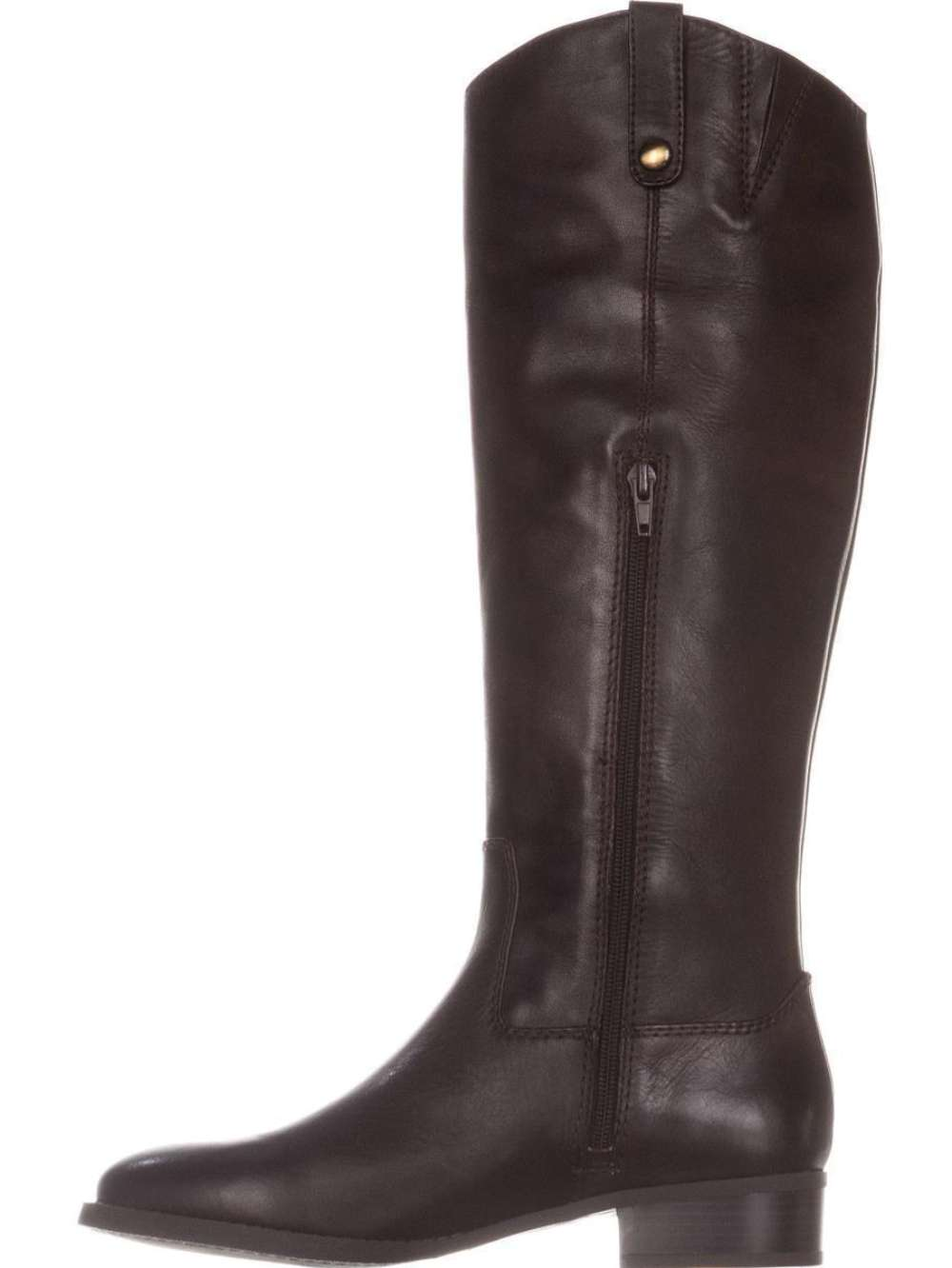 INC International Concepts mujer Fawne Leather Closed Toe, Chocolate, Talla 6.5