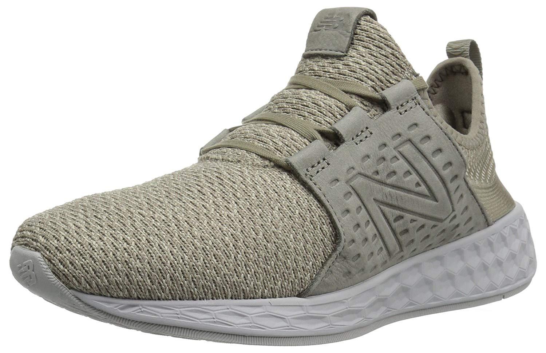 new balance running shoes no laces grey
