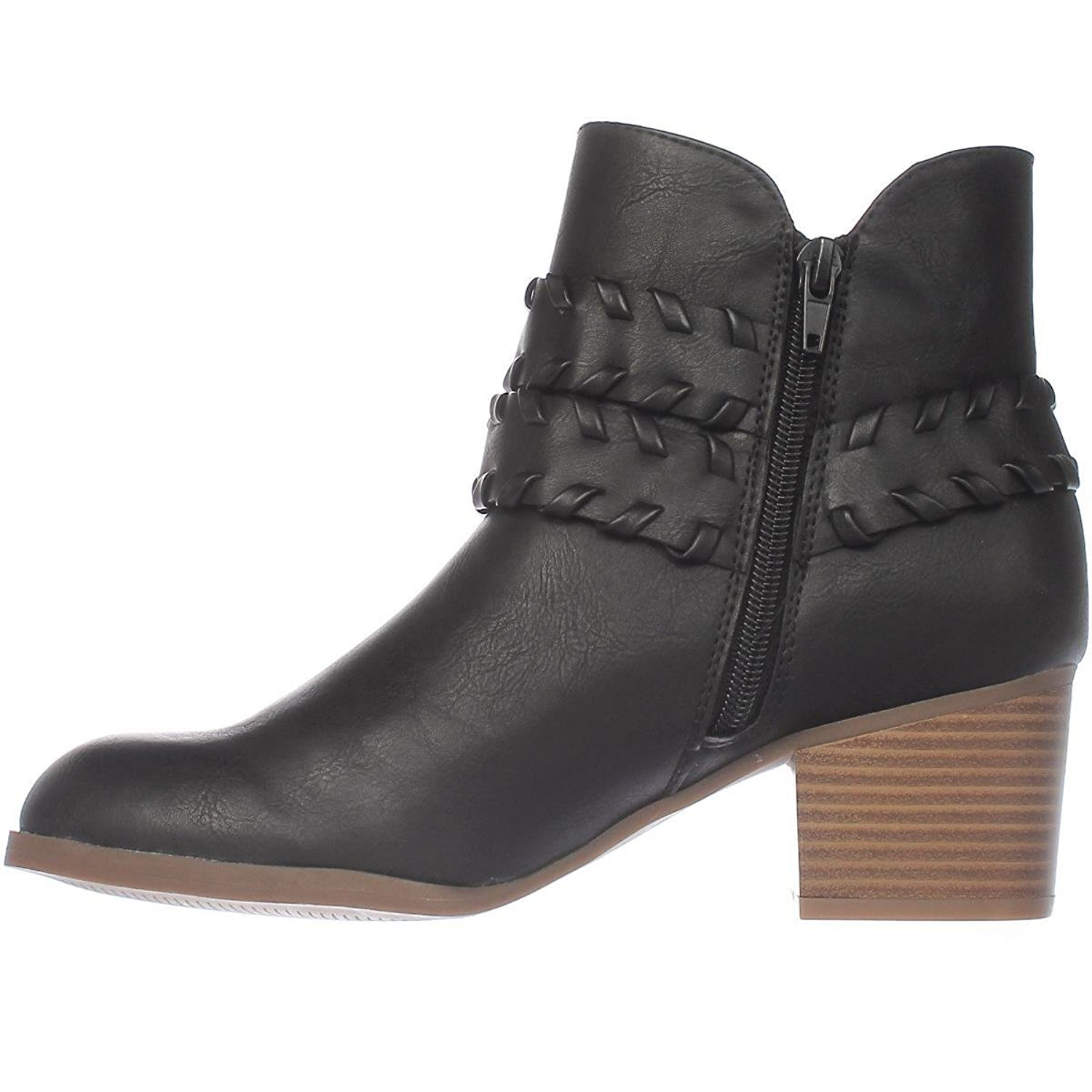 Womens Dyanaa Closed Toe Ankle Fashion Boots