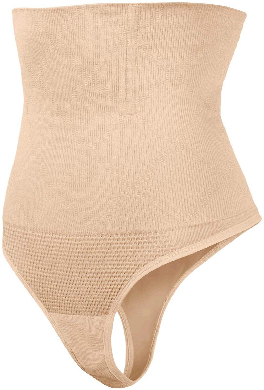 SAYFUT 328 Women Waist Cincher Girdle Tummy Slimmer, Nude