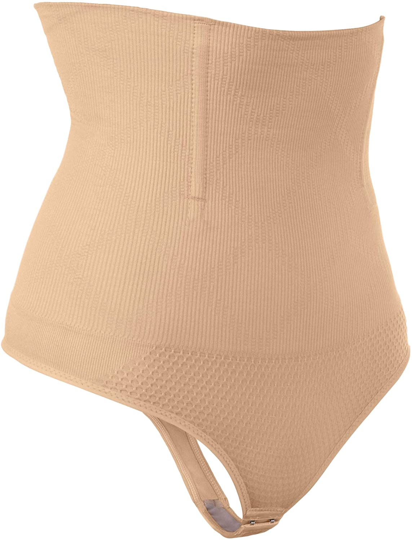 Hioffer 328 Women Waist Cincher Girdle Tummy Slimmer, Nude