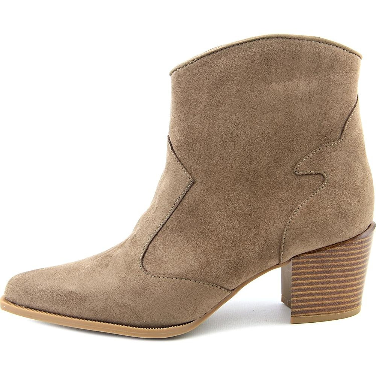 Womens Finley Almond Toe Ankle Fashion Boots