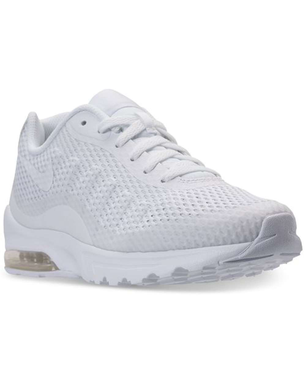1120a71be01 Nike Air Max Invigor SE Mens Athletic Shoes White   White 10 US ...