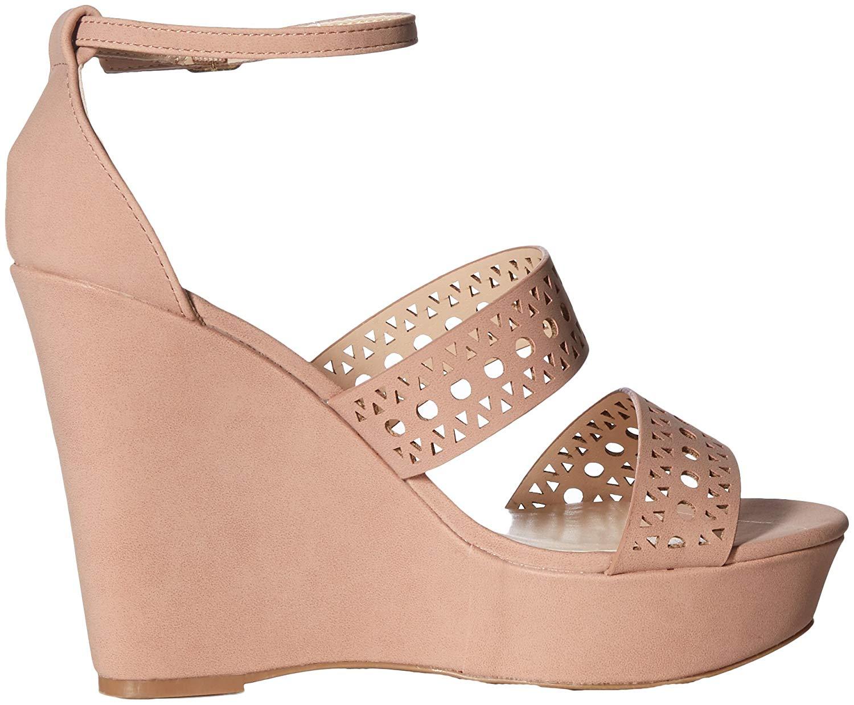 e622967b68b Details about Qupid Women's Espadrille Wedge Sandal, Tan, Size 10.0 US / 8  UK