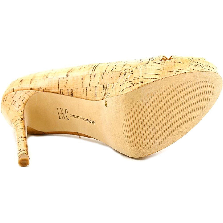 INC International Concepts Damenschuhe Vernaa Peep Toe Classic Pumps