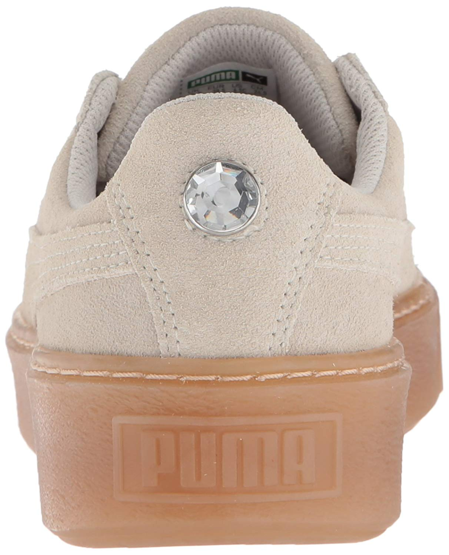 17e55e7eae6336 PUMA Kids  Suede Platform Jewel Sneaker