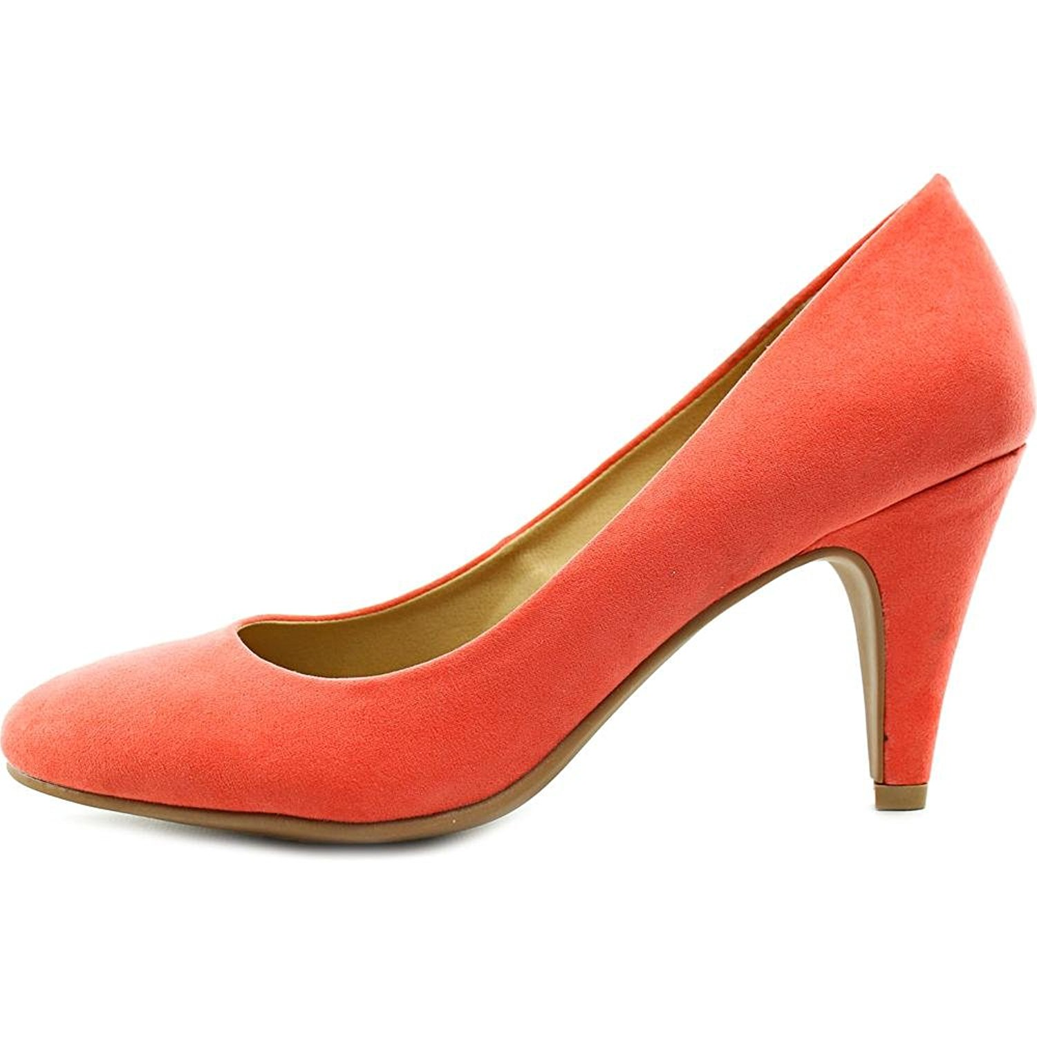 American Rag Womens Felix Round Toe Classic Pumps Coral Size 6.0