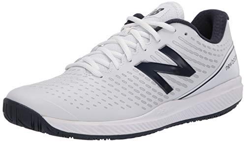 New-Balance-Men-039-s-796-V2-Hard-Court-Tennis-Shoe-White-Navy-Size-8-5-1Ufe