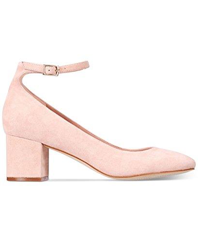 Aldo Womens Clarisse Suede Closed Toe Ankle Strap 5.0 Classic Pumps Pink Size 5.0 Strap 342314