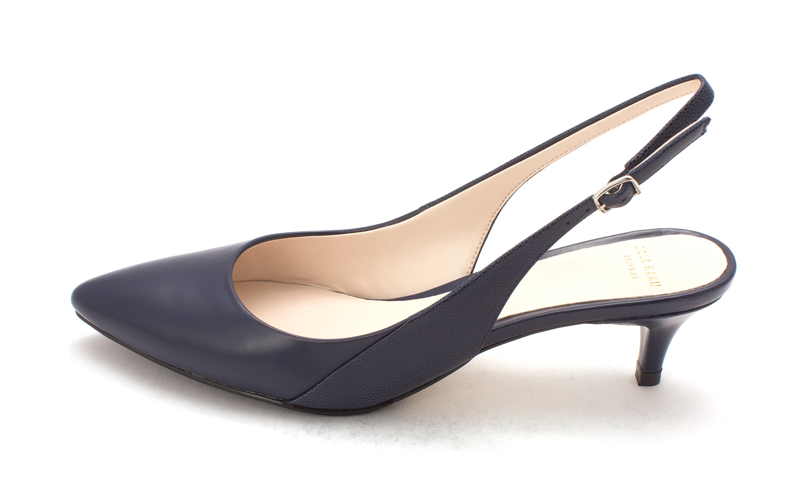 Cole Haan Womens 14A4063 Pointed Toe SlingBack Classic Blazer Blue Size 6.0
