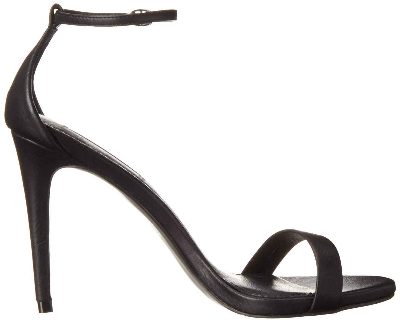 6e3e3848e75 Steve Madden Womens Stecy Leather Open Toe Casual Ankle Strap ...