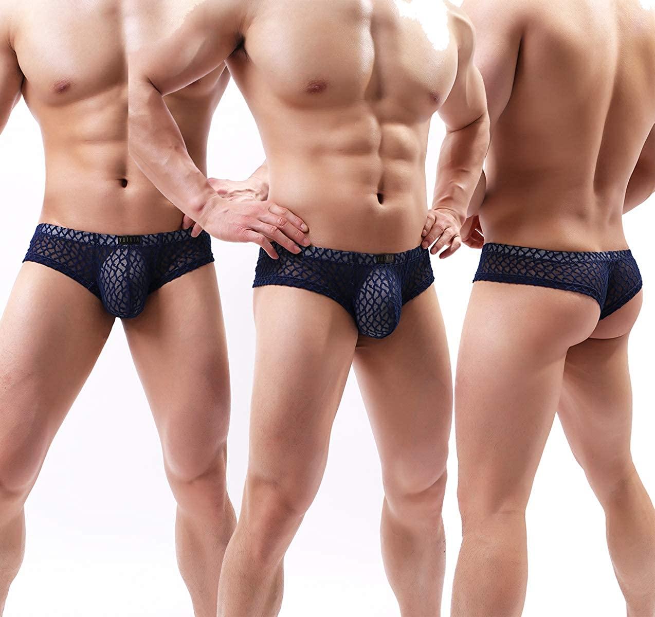 low Lace for men rise bikini