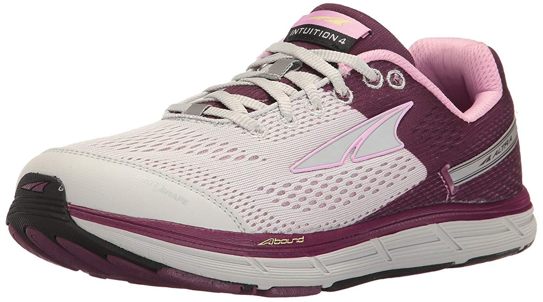 Unido 5 Calzado 5 3 Us 5 Gris deportivo mujer Reino para púrpura Intuition 4 Altra 6E8wqanABx