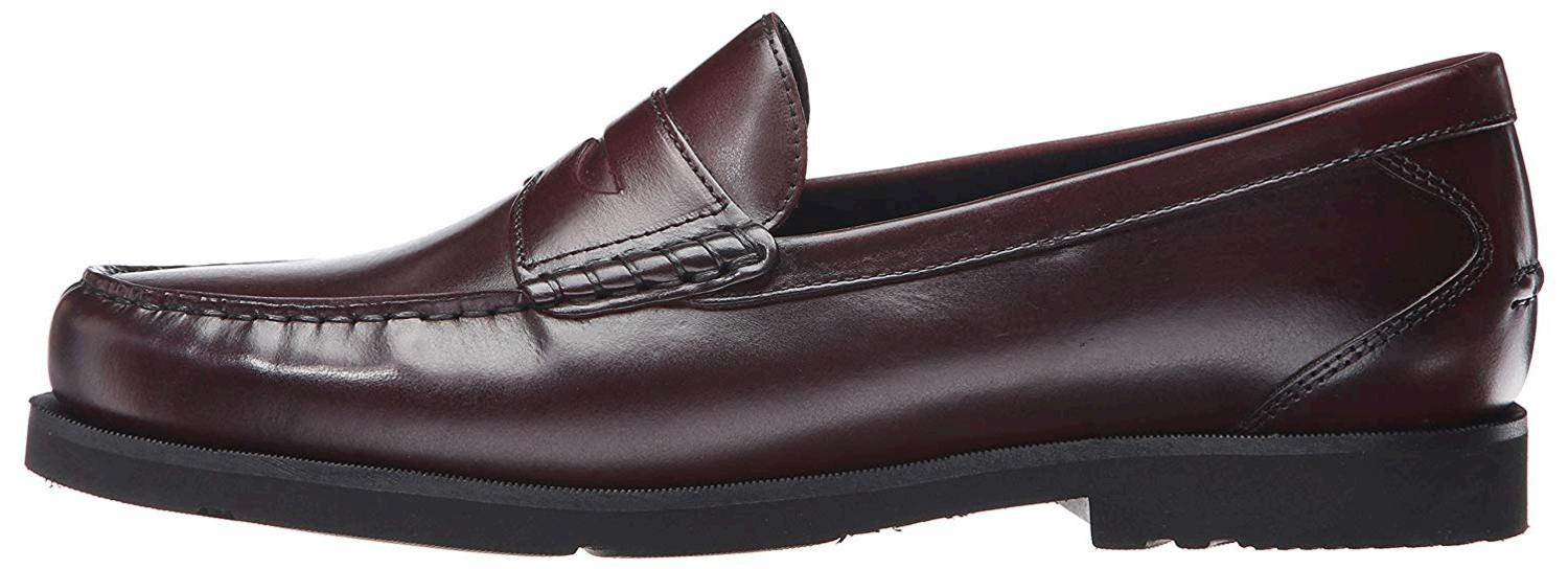 Rockport Men's Modern Prep Penny Loafer, Burgundy, Size 9 ...