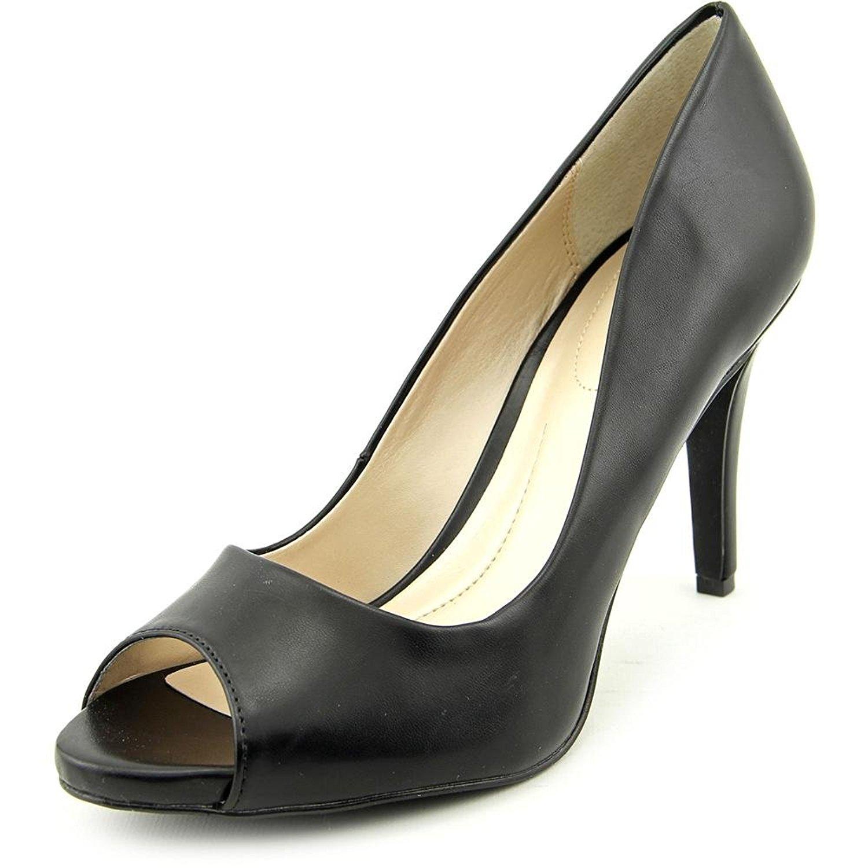 Style Co. Womens Brandii Peep Toe Classic Pumps Black Size 7.0