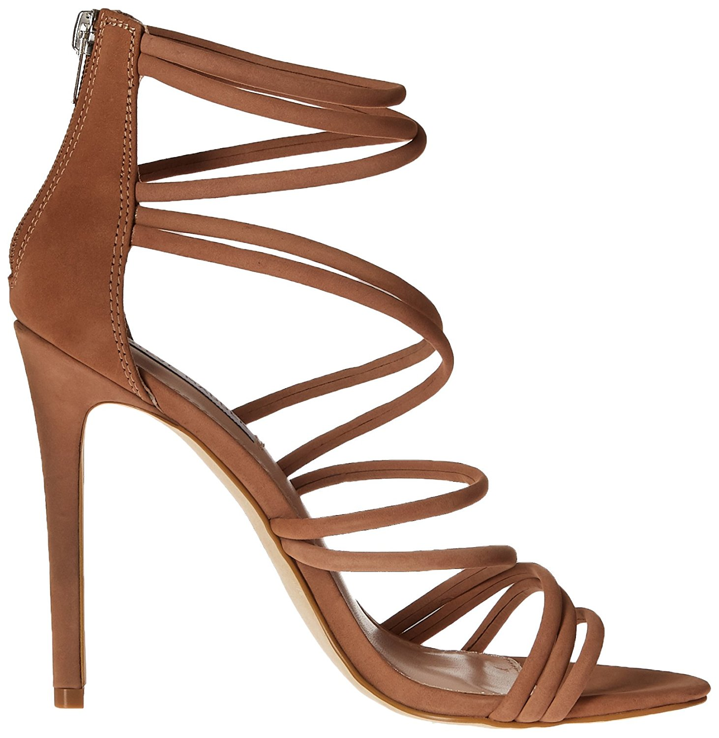 21f3b312fdc Steve Madden Womens Santi Leather Open Toe Special Occasion Strappy ...