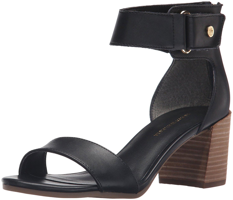 Tommy Hilfiger da donna Charlot Pelle Punta Aperta Casual Sandali Cinturino Alla Caviglia | Eleganti  | Uomo/Donne Scarpa