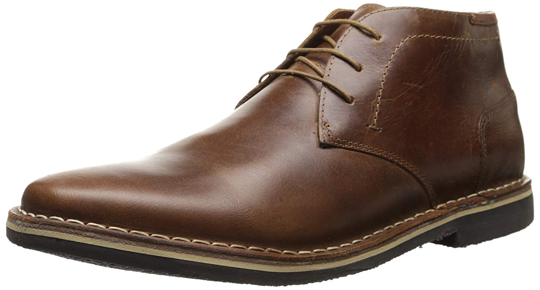ce93e8b616f Details about Steve Madden Men's Harken Chukka Boot, Cognac, Size 10.5 sJeA