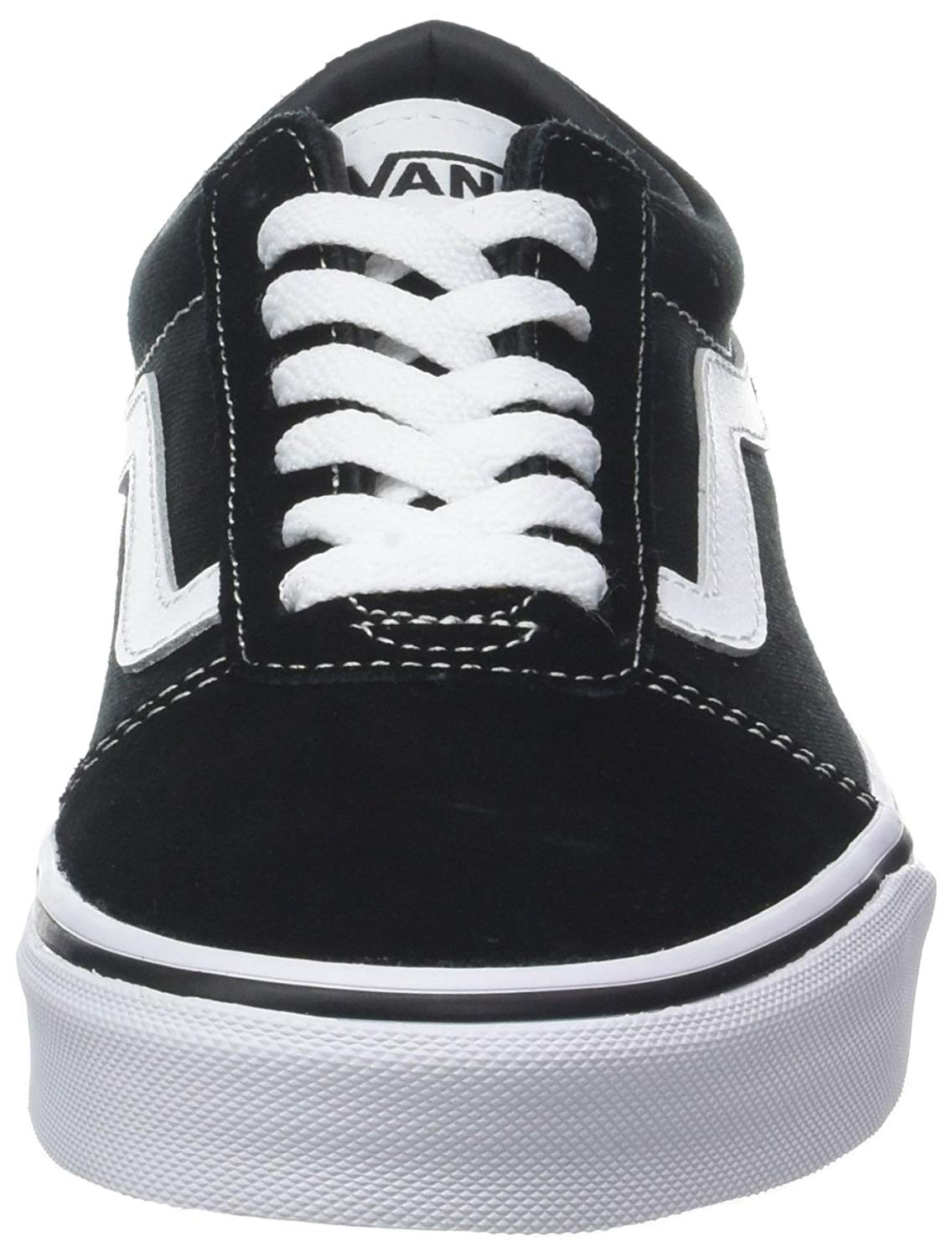 048e270d1caa76 Vans Mens Ward Canvas Low Top Lace Up Fashion Sneakers