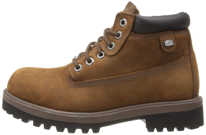 Dettagli su Skechers Mens Verdict Suede Closed Toe Ankle Military, Dark Brown, Size 12.0 2UQ