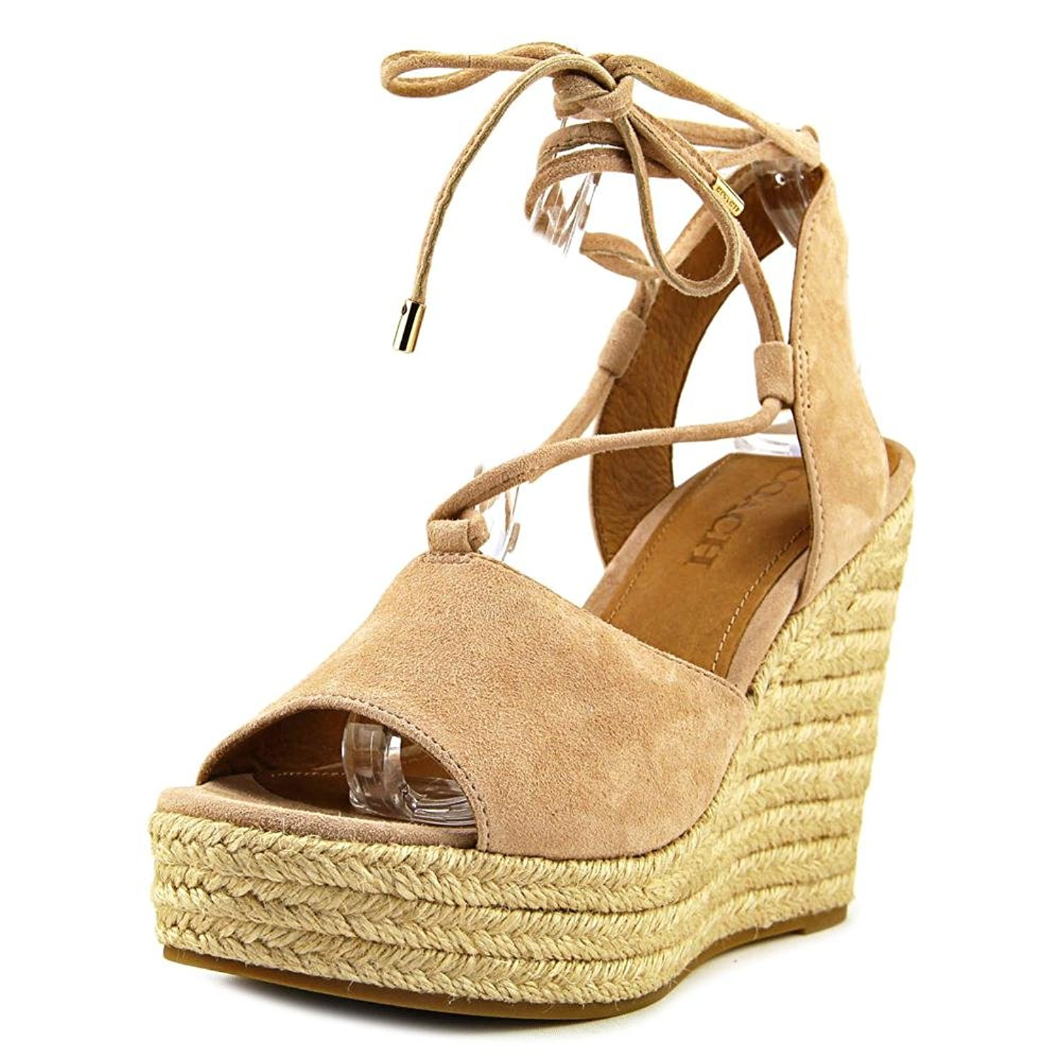 67a15562b88 Coach Womens Dana Open Toe Casual Espadrille Sandals