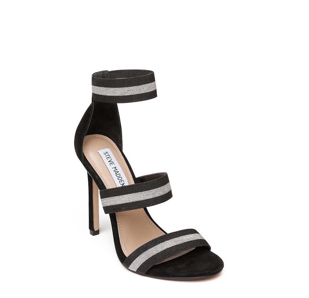 c41245c5120 Details about Steve Madden Womens Crave Open Toe Special Occasion Ankle  Strap Sandals