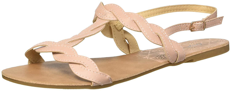 5e379c02713e Qupid Women s T-Strap Flat Sandal