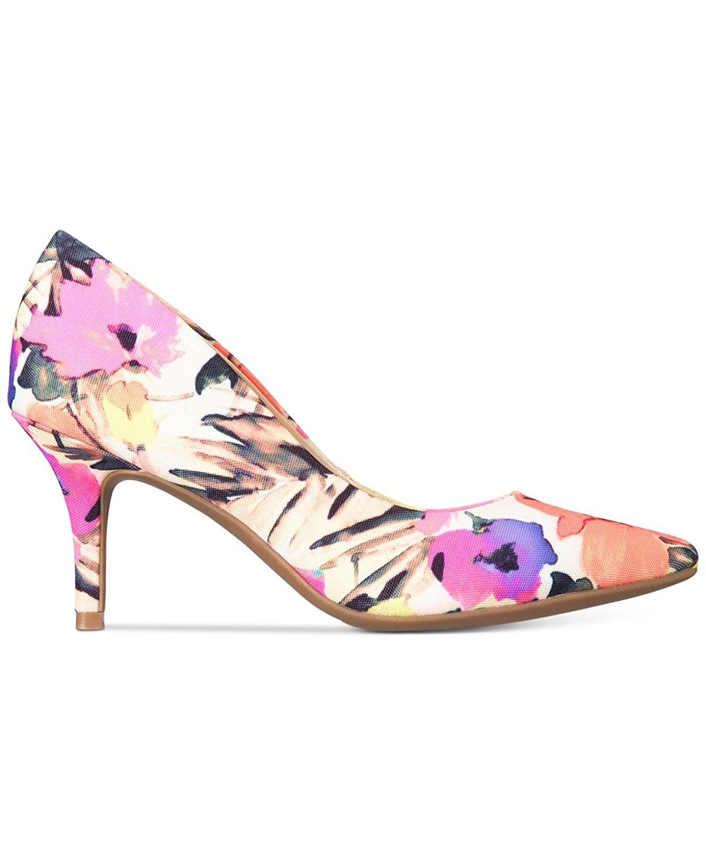 Alfani Womens Jeules Pointed Toe Classic Pumps Floral Print Size 10.0