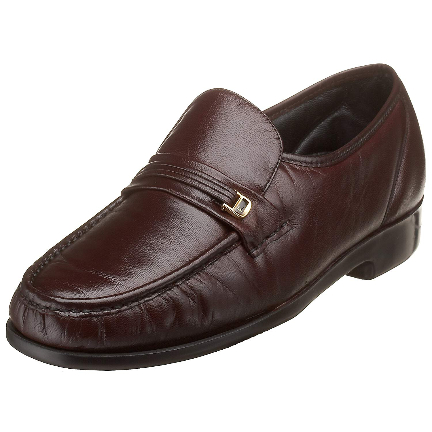 ba14203b72a Details about Florsheim Mens Riva Leather Round Toe Penny Loafer