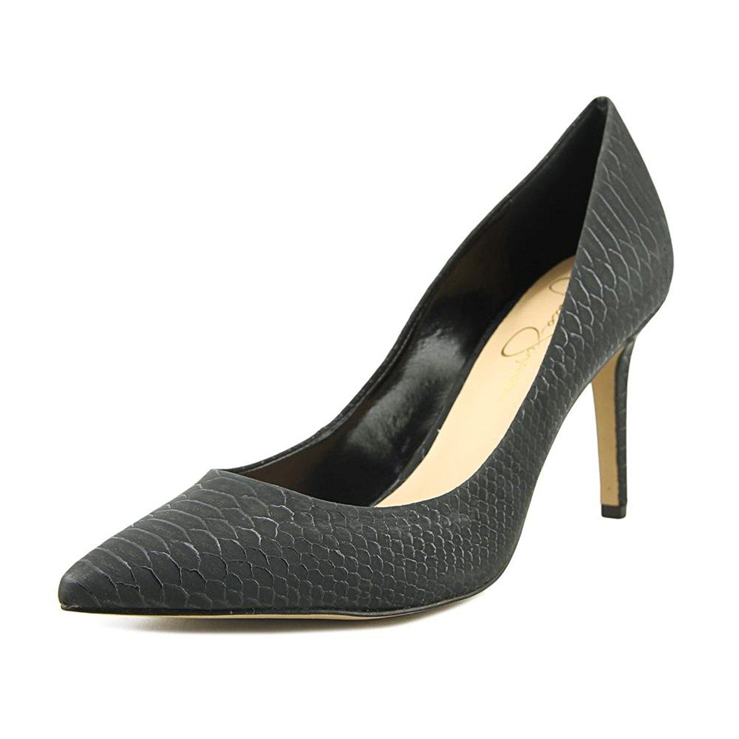 b7106f27afd Jessica Simpson Womens Levin Pointed Toe Classic Pumps