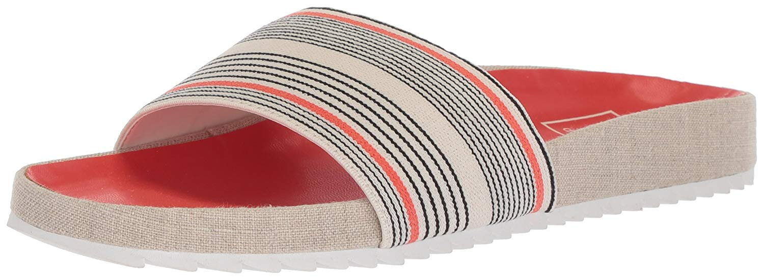 6653f3b8f807 Details about Dolce Vita Womens sonia Open Toe Casual Slide Sandals