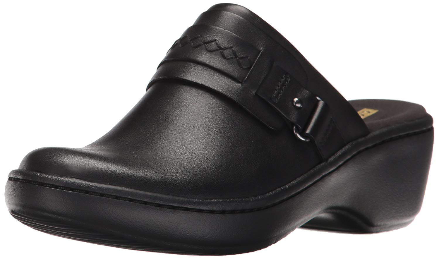 Clarks Womens Delana Amber Leather