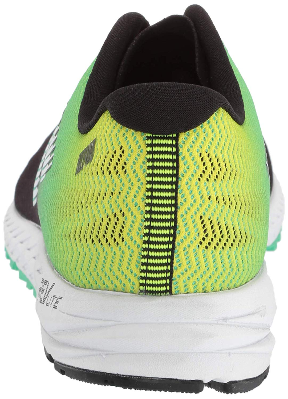 11890607d9dcf New Balance Mens M1400NY6 Low Top Lace Up, Black/Neon Emerald/Hi-lite, Size  10.5