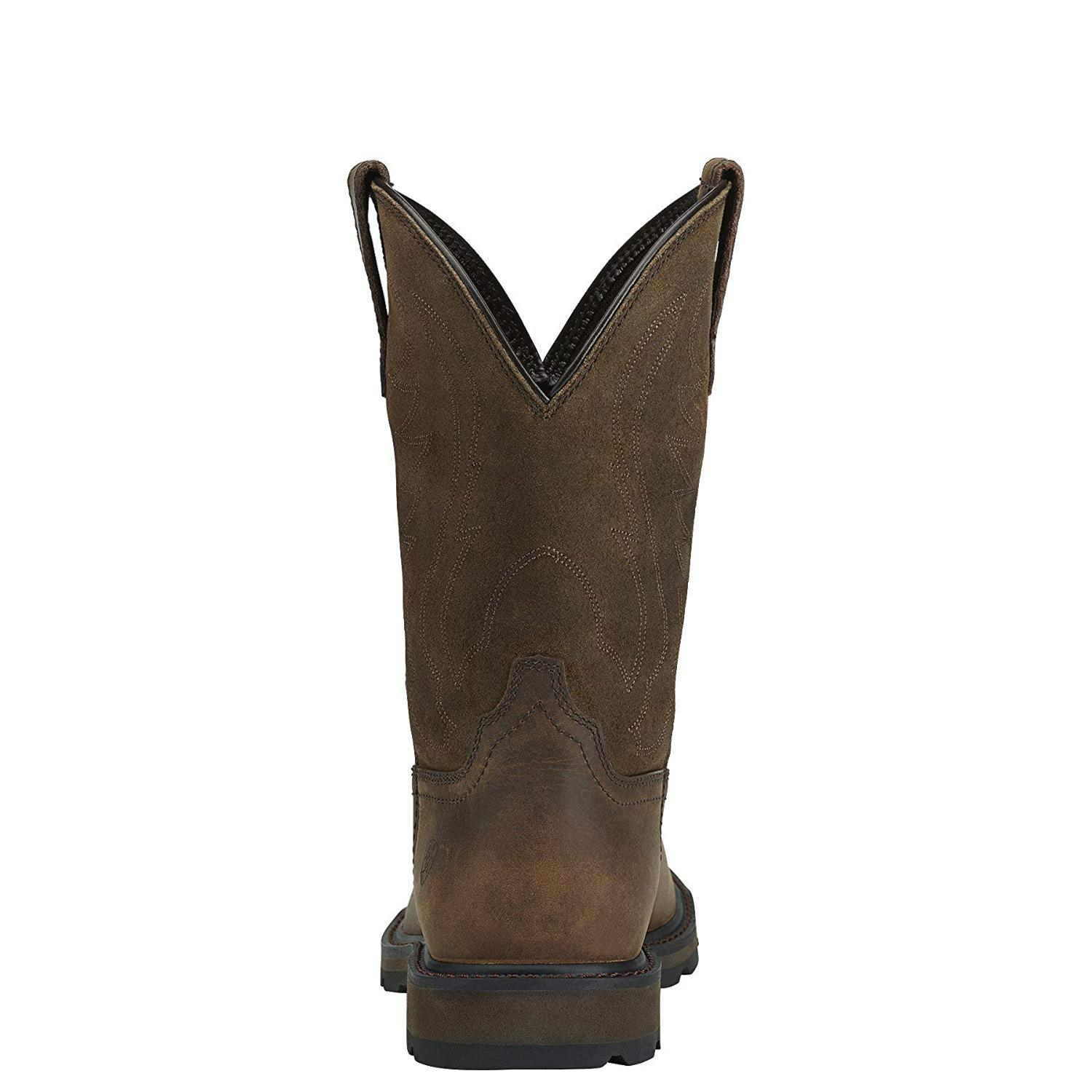 latest design sale retailer outlet online ARIAT Men's Groundbreaker Pull-on Work Boot, Brown/Htc Brown, Size ...