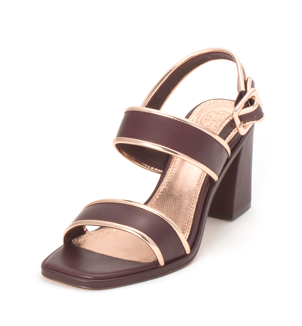 c54272df2306 Tory Burch Womens Delaney 75mm Sandal Leather Open Toe
