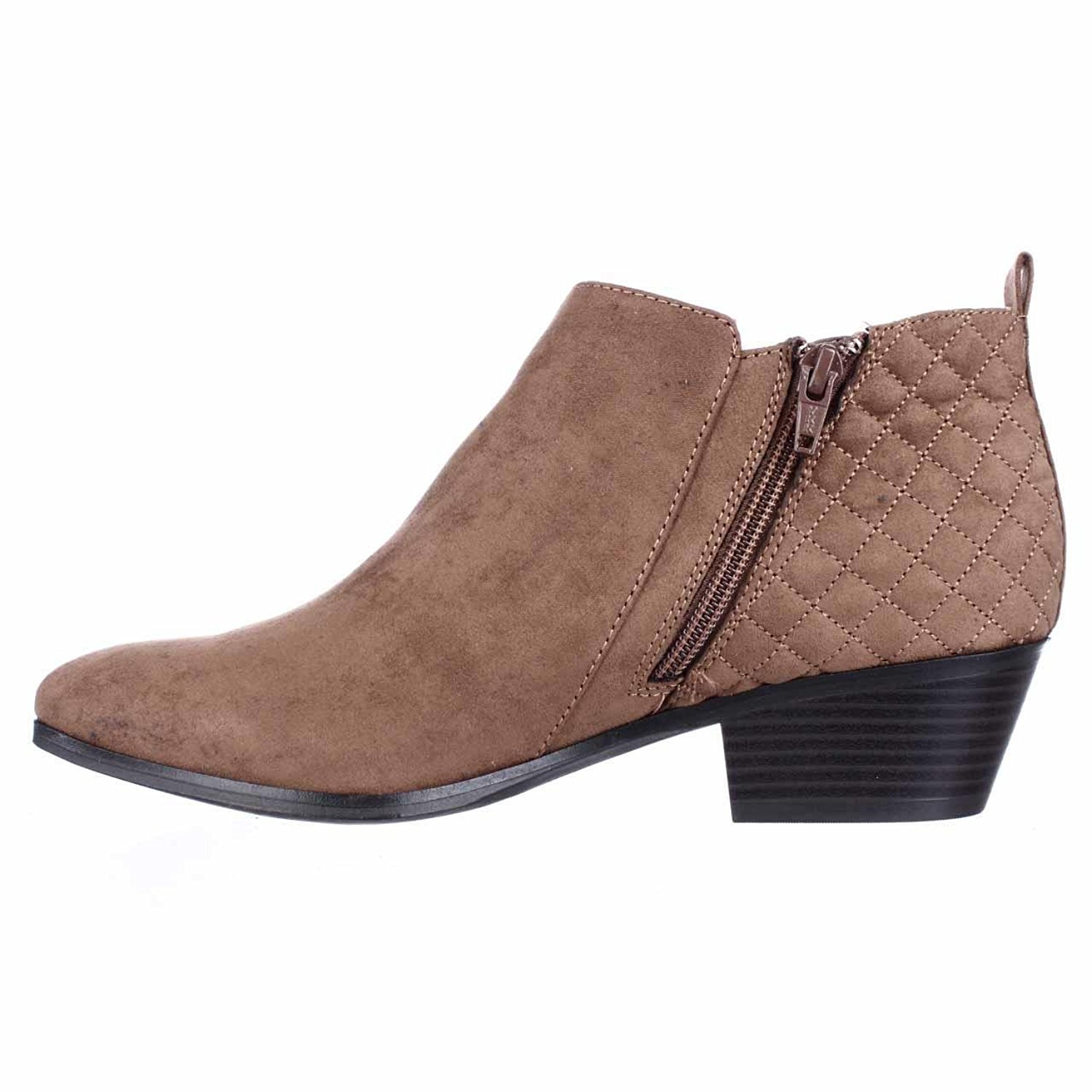 Womens Wessley Closed Toe Ankle Fashion Boots