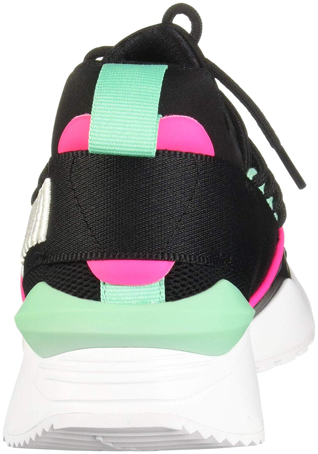 55ac4ab3 Details about PUMA Muse Maia Street 1 Womens Trainers, Black, Size 8.5 agA0