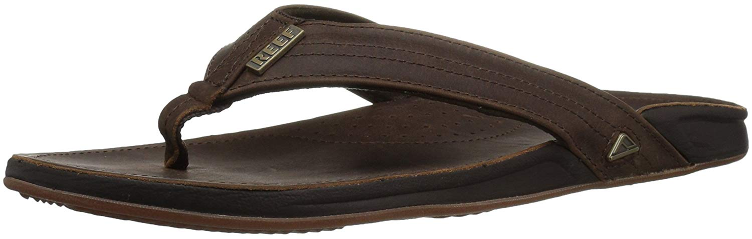 761eb0ac16c2 Reef Mens Reef J-Bay lll Slip On Open Toe Flip Flops