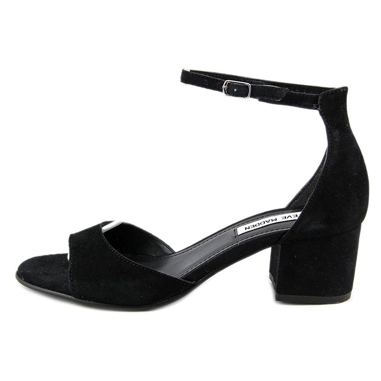 Steve Madden Women's Iiden Black Suede Size 9.0 agw0 US / 7 UK