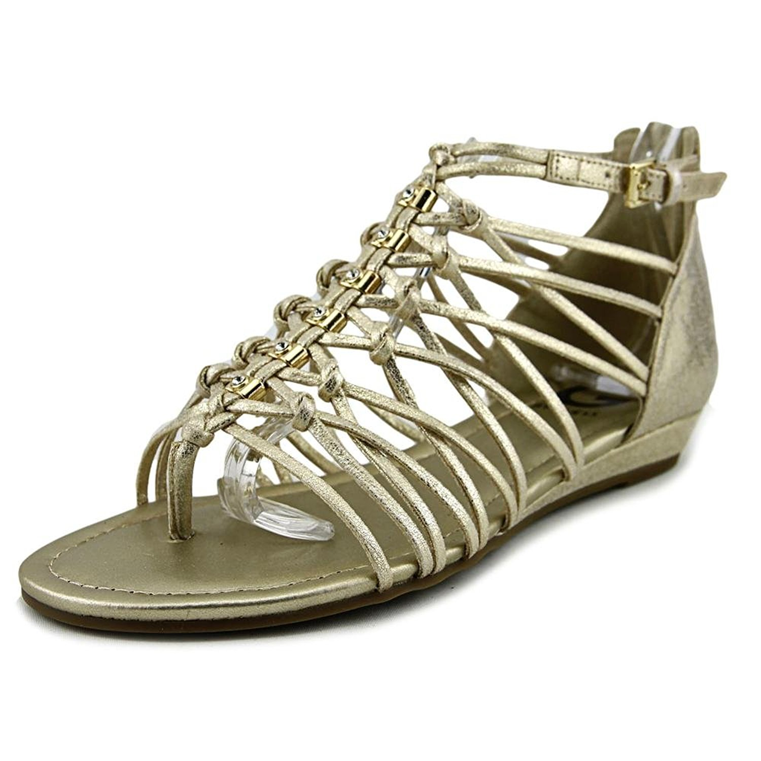 d81163b38343 G by Guess Womens Jonsie Open Toe Casual Strappy Sandals