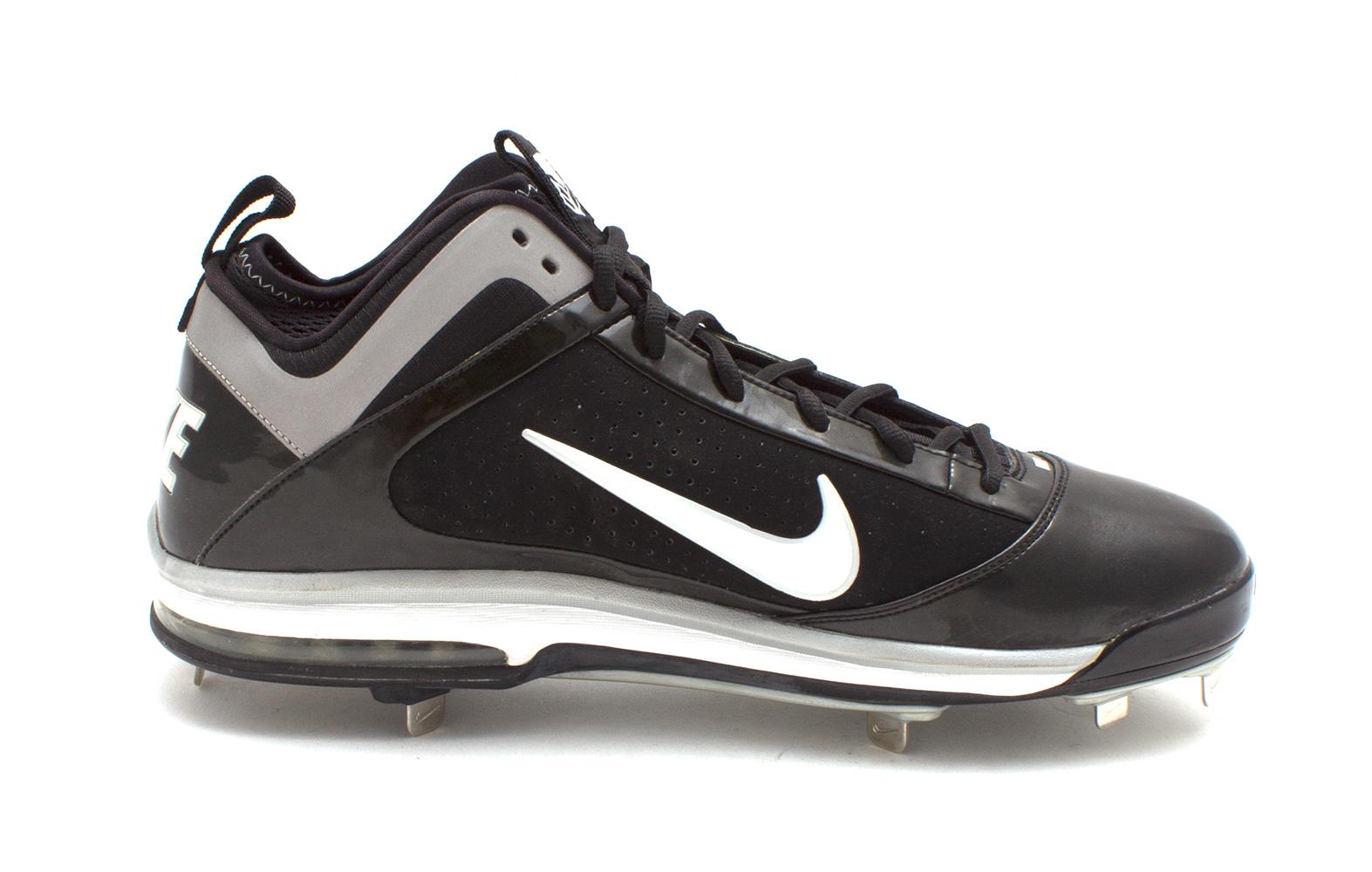 Nike AIR MAX DIAMOND ELITE METAL 15 Mens Athletic Shoes Black WHITE ... 55494a6f8