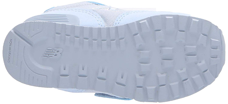 Toddler New Balance 515V1 Hook and Loop Sneaker KA515BII Color Ice Blue//Silver