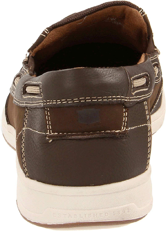Florsheim-Homme-039-S-Lakeside-Slip-on-Chaussures-Bateau-Marron-Taille-9-5-s9Hc-US-8-5-UK miniature 2