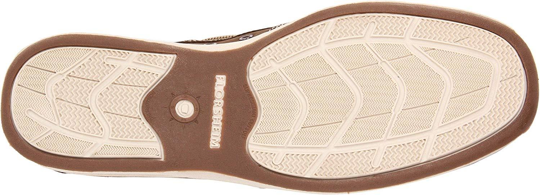 Florsheim-Homme-039-S-Lakeside-Slip-on-Chaussures-Bateau-Marron-Taille-9-5-s9Hc-US-8-5-UK miniature 3