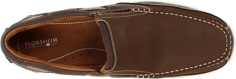 Florsheim-Homme-039-S-Lakeside-Slip-on-Chaussures-Bateau-Marron-Taille-9-5-s9Hc-US-8-5-UK miniature 4