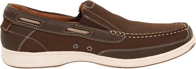 Florsheim-Homme-039-S-Lakeside-Slip-on-Chaussures-Bateau-Marron-Taille-9-5-s9Hc-US-8-5-UK miniature 5