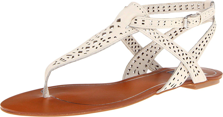 Dolce Vita Women's Irina Sandal Bone Leather Size 6.0