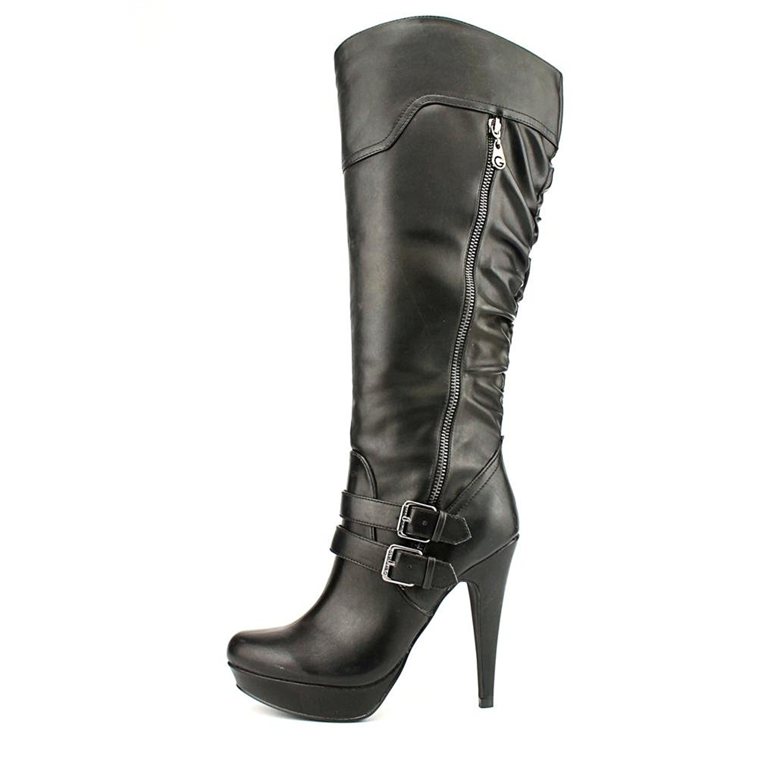 G by Guess Womens Danjer Closed Toe Knee High Fashion Boots Black Size 10.0 S4