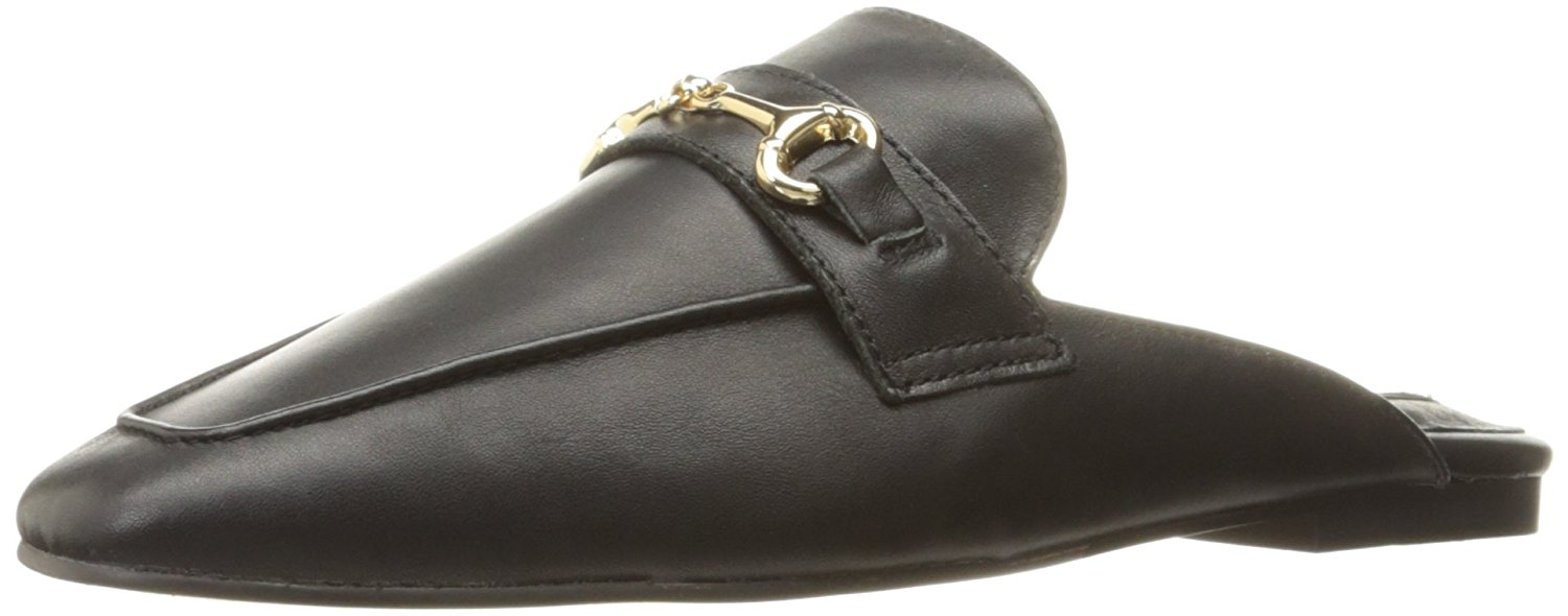 Details about Steven by Steve Madden Razzi L Womens Loafers   SlipOns Black  Leather 8.5 US